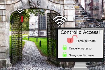 portale controllo accessi hotel